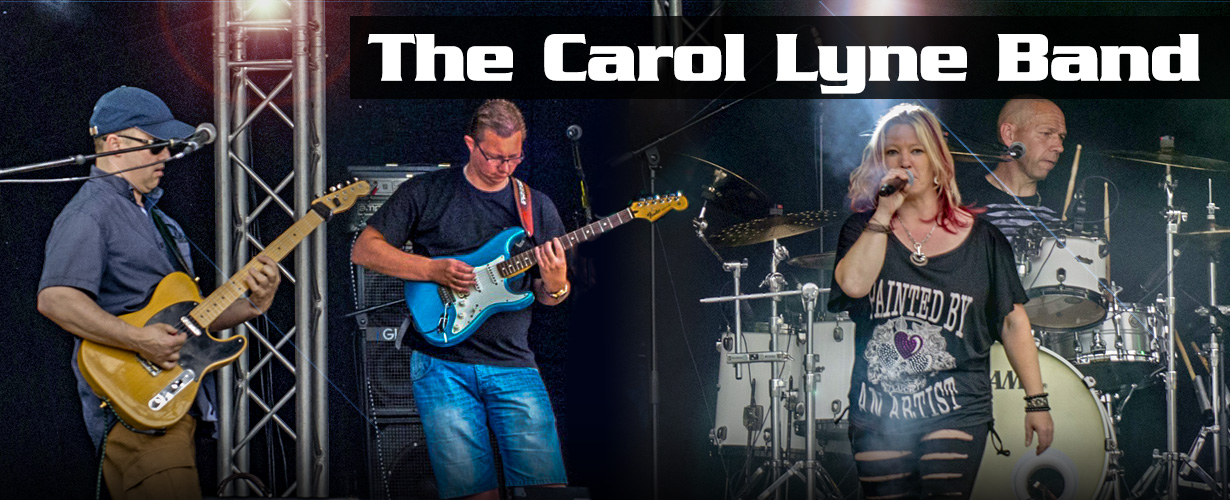 header thecarollyneband alle coverbands