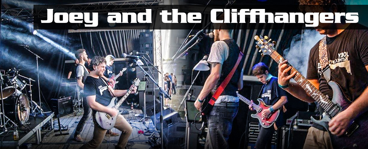 header joeyandthecliffhangers alle coverbands