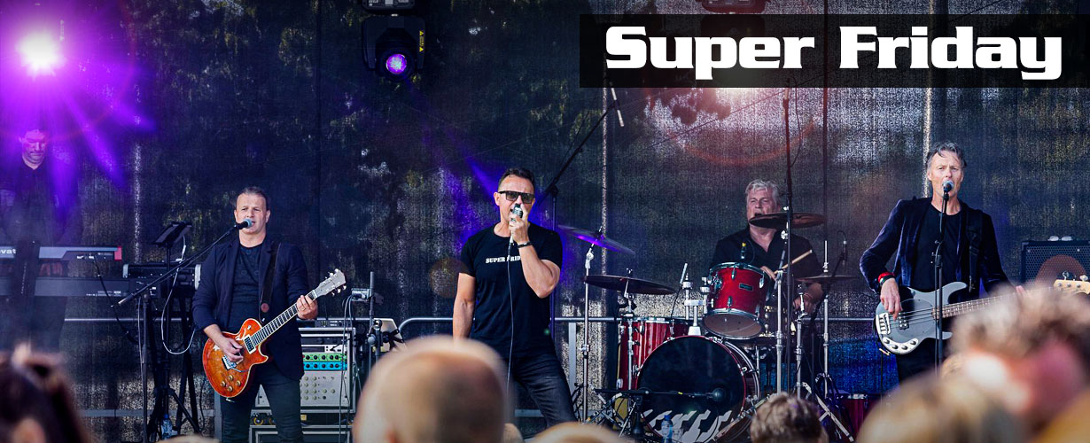header superfriday alle coverbands